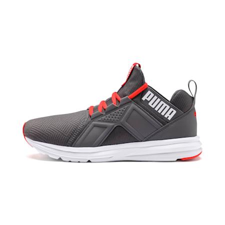 Enzo Geo Men's Sneakers, CASTLEROCK-Nrgy Red, small