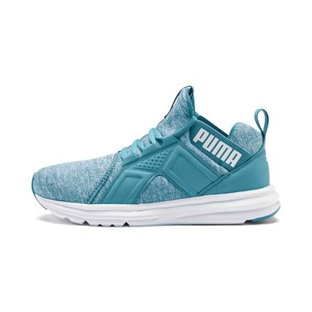 Enzo Heather Women's Sneakers, Bluestone-Milky Blue-White, small