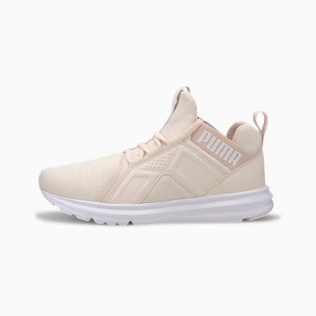 Enzo Heathered Women's Running Shoes, Rosewater-Glacier Gray-White, small-SEA