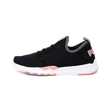 IGNITE Contender Interest Women's Shoes, Puma Black-Bridal Rose, small-IND