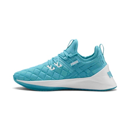 Jaab XT Quilted Women's Shoes, Milky Blue-Puma White, small-IND