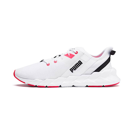 Weave XT Women's Training Shoes, Puma White-Pink Alert, small-IND