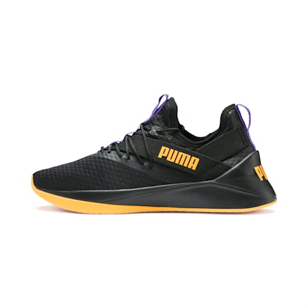 Basket Jaab XT Rave pour homme, Puma Black-Orange Alert, small