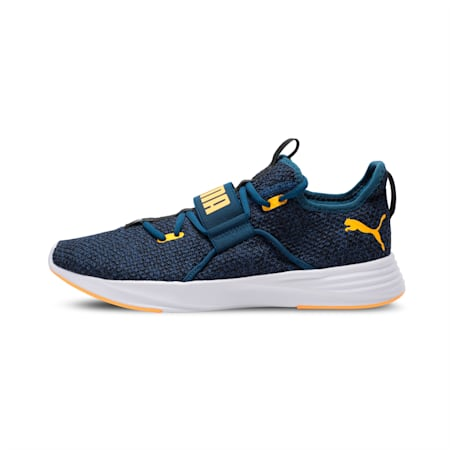 Persist XT Knit SoftFoam+ Men's Training Shoes, Gibraltar Sea-Orange Alert, small-IND