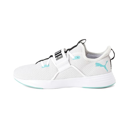 Persist XT Knit SoftFoam+ Men's Training Shoes, Puma White-Blue Turquoise, small-IND