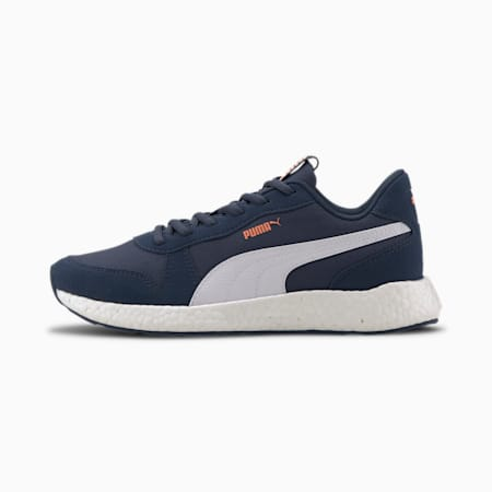 NRGY Neko Retro Women's Running Shoes, Dark Denim-Puma White, small-IND