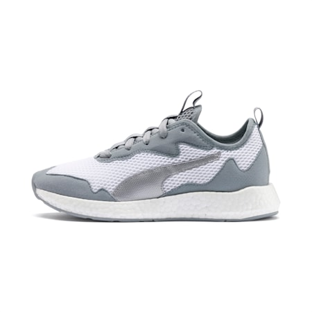 NRGY Neko Skim Women's Running Shoes, Puma White-Quarry, small