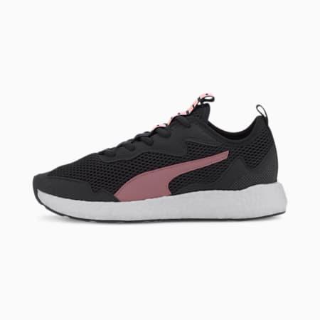NRGY Neko Skim SoftFom+ Women's Running Shoes, Puma Black-Foxglove, small-IND