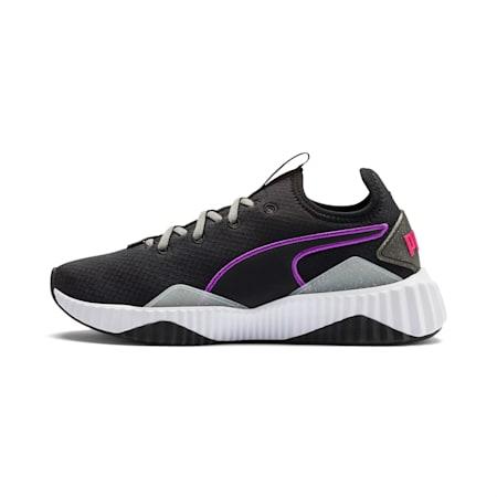 Defy Sheen Women's Training Shoes, Puma Black-Puma White, small
