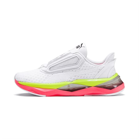 LQDCell Shatter XT Women's Training Shoes, Puma White-Pink Alert, small-SEA