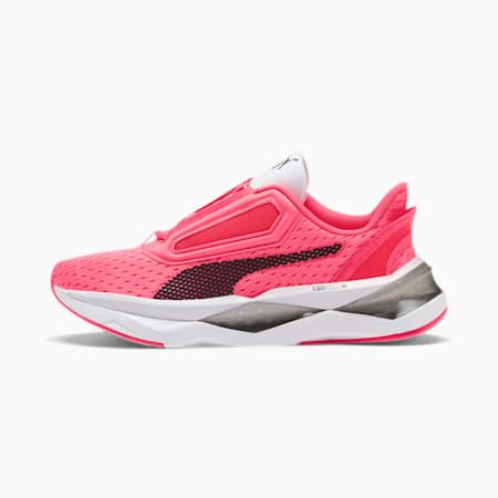 Zapatos deentrenamiento LQDCELL Shatter XT para mujer, Pink Alert-Puma White, pequeño