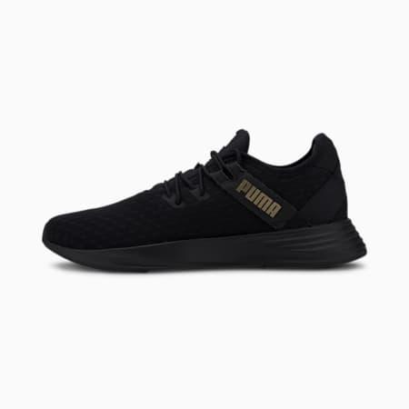 Radiate XT Pattern Women's Training Shoes, Puma Black-Metallic Gold, small