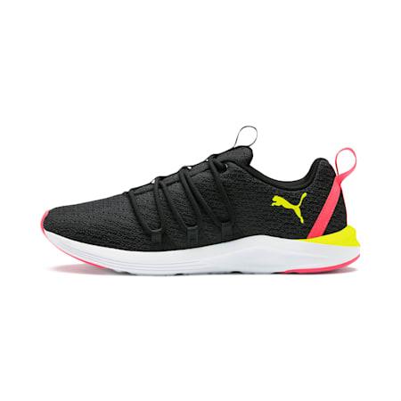 Prowl Alt Neon Women's Training Shoes, Puma Black-Yellow Alert, small
