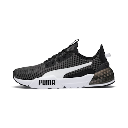 CELL Phase Men's Running Shoes, Puma Black-Puma White, small-IND