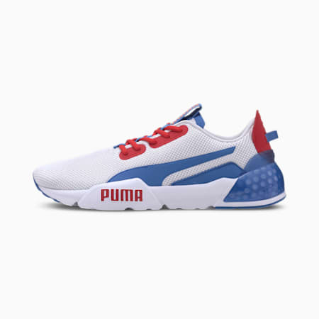 CELL Phase Men's Running Shoes, P White-H Rsk Rd-Palace Blue, small-IND