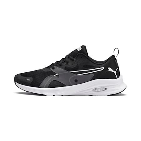 HYBRID Fuego Men's Running Shoes, Puma Black-Puma White, small-GBR