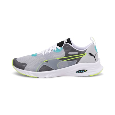 HYBRID Fuego Men's Running Shoes, High Rise-Blue Turquoise, small-IND
