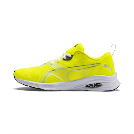 HYBRID Fuego Lights Men's Running Shoes, Yellow Alert, small
