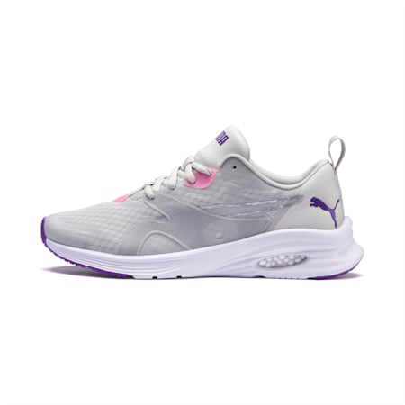 HYBRID Fuego Women's Running Shoes, Glacier Gray-Purple Glimmer, small