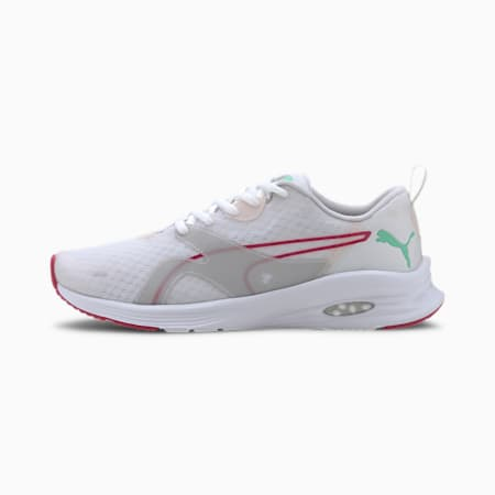 HYBRID Fuego Women's Running Shoes, White-Rosewater-GreenGlimmer, small