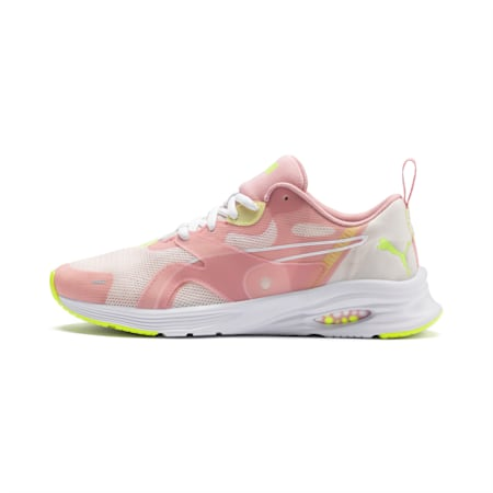 HYBRID Fuego Shift Women's Running Shoes, Pastel Parchment-Bridal Rose, small-IND