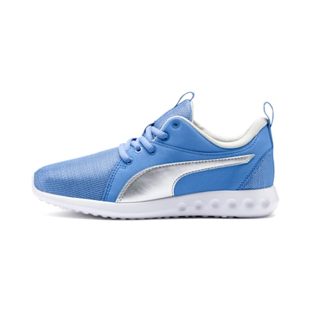 Carson 2 Glitz Shoes JR, Ultramarine-Silver, small