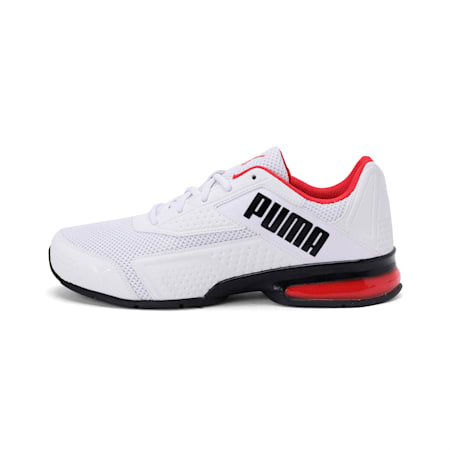 Leader VT NU Training Shoes, Puma Wht-Hgh Rsk Rd-Pma Blk, small-IND