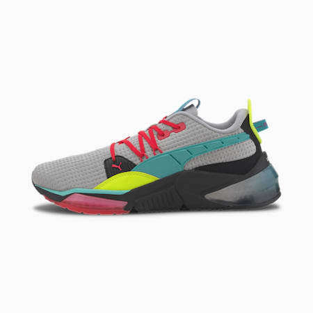 LQDCELL Optic Flight Suit Men's Training Shoes, High Rise-BTurquose-Nrgy Rse, small
