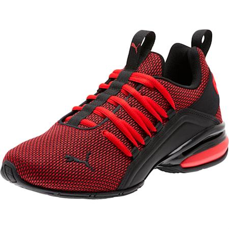 Axelion NM Training Shoes JR, High Risk Red-Puma Black, small