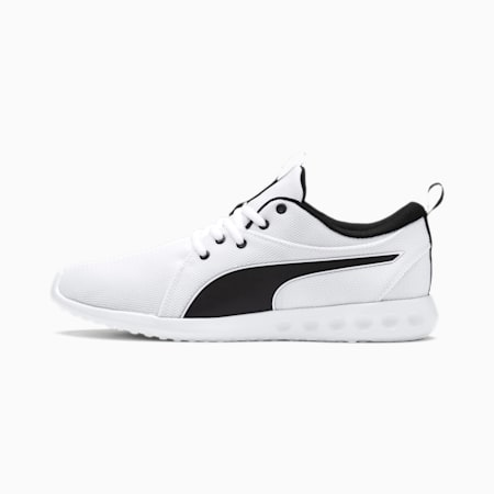 Carson 2 Cosmo Men's Running Shoes, Puma White-Metallic Gold, small