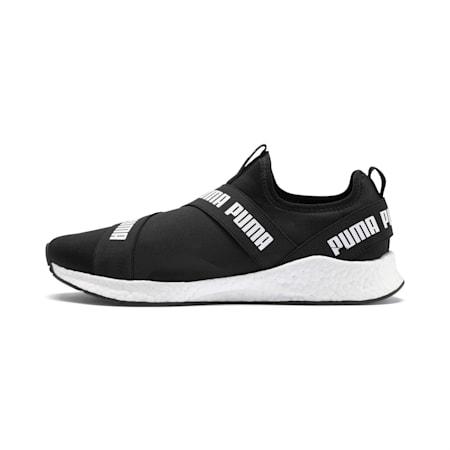 NRGY Star Slip-On Running Shoes, Puma Black-Puma White, small-SEA
