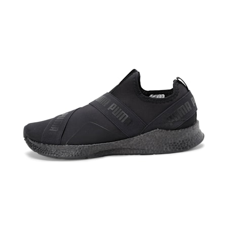 NRGY SoftFoam+ Star Slip-On Walking Shoes, Puma Black, small-IND