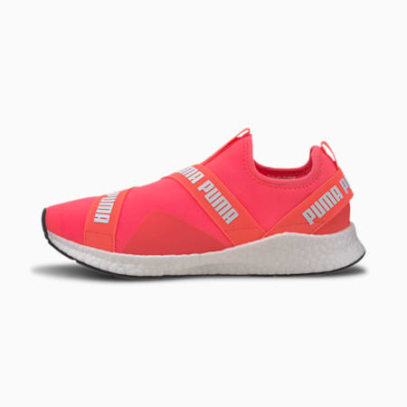 NRGY Star Slip-On Walking Shoes, Ignite Pink-Puma White, small-IND