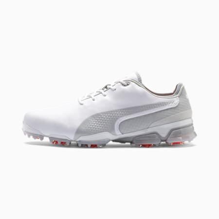 Obszyte męskie buty golfowe IGNITE PROADAPT, White-Gray Violet, small
