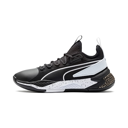 Uproar Core Men's Basketball Shoes, Puma Black, small