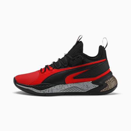 Uproar Core Herren Basketballschuhe, High Risk Red-Puma Black, small