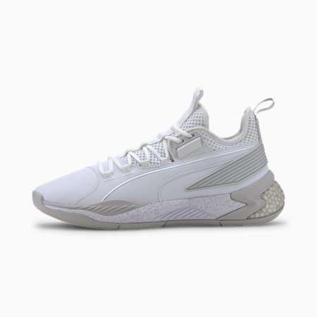 Uproar Core Men's Basketball Shoes, Puma White-Puma White, small-GBR