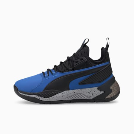 Uproar Core Men's Basketball Shoes, Strong Blue-Puma Black, small