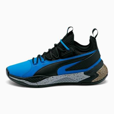 Uproar Core Basketball Shoes, Strong Blue-Puma Black, small