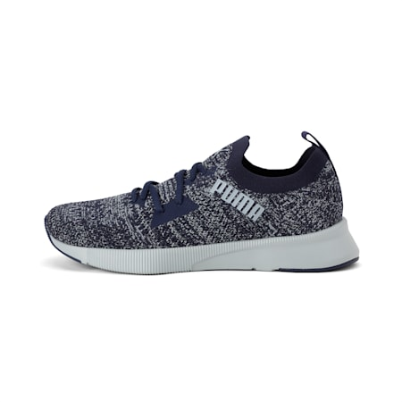 Flyer Runner Engineered Knit SoftFoam+ Men's Running Shoes, Peacoat-Quarry, small-IND
