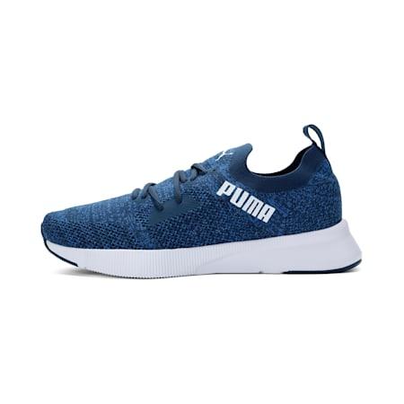 Flyer Runner Engineered Knit SoftFoam+ Men's Running Shoes, Dark Denim-Blue-White, small-IND