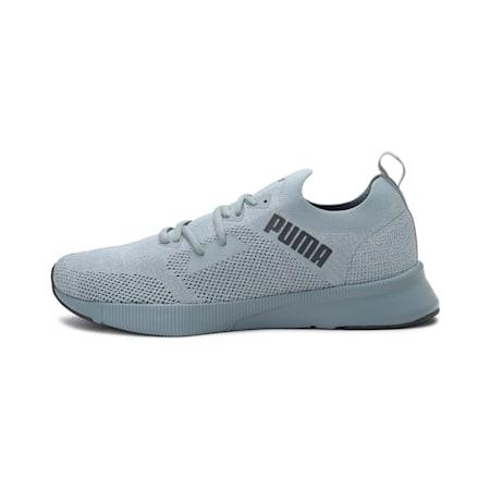 Zapatillas de running para hombre Flyer Runner Engineered Knit, Quarry-Gray Violet, small