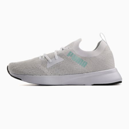 Flyer Runner Engineered Knit SoftFoam+ Men's Running Shoes, Puma White-Gray Violet, small-IND