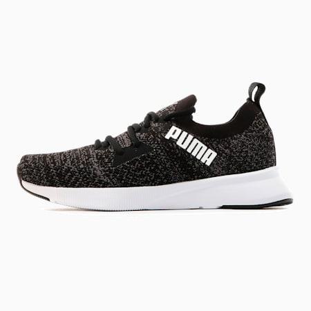 Flyer Women's Running Shoes, Puma Blk-Asphalt-Puma Wht, small
