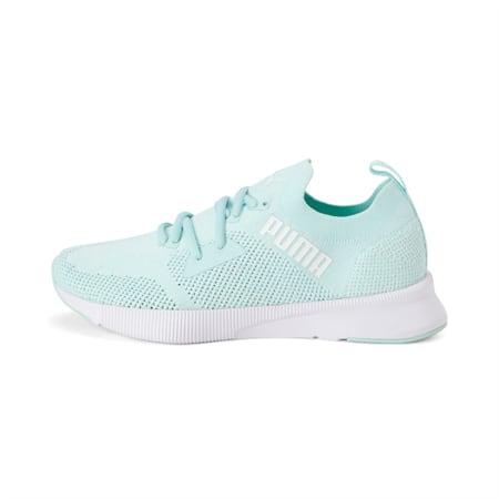 Flyer SoftFoam+ Women's Running Shoes, Fair Aqua-Puma White, small-IND