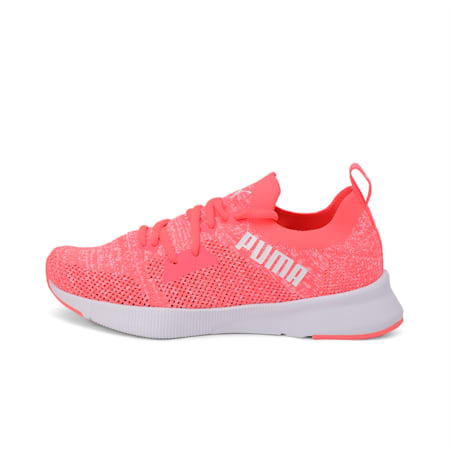 Flyer SoftFoam+ Women's Running Shoes, Ignite Pink-Puma White, small-IND