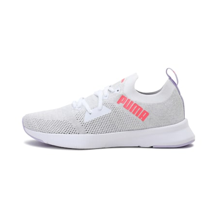 Flyer SoftFoam+ Women's Running Shoes, Puma White-Ignite Pink-Light Lavender, small-IND