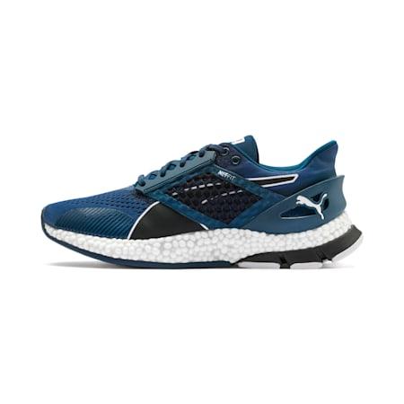 Zapatos para correr HYBRID Astro para hombre, Black-Gibraltr Sea-Jaffa Org, pequeño