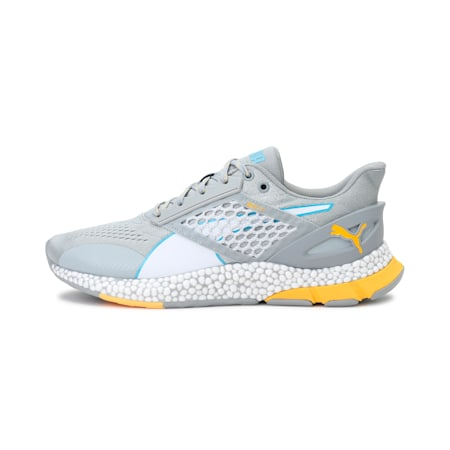 HYBRID NETFIT Astro Men's Running Shoes, High Rise-Blue-ULTRA YELLOW, small-IND