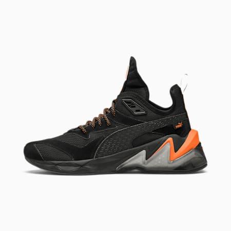 Zapatos de entrenamiento LQDCELL Origin Terrain para hombre, Puma Black-Jaffa Orange, pequeño